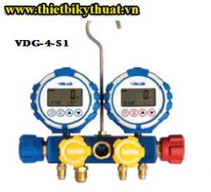Đồng hồ nạp gas value VDG-4-S1