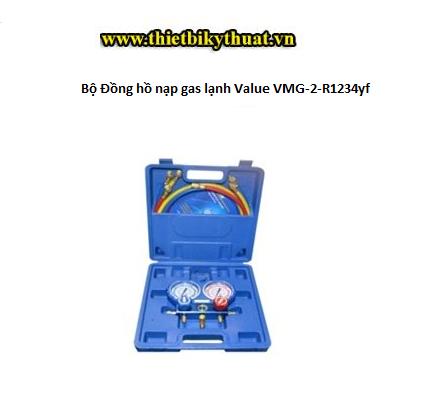 Bộ Đồng hồ nạp gas lạnh Value VMG-2-R1234yf