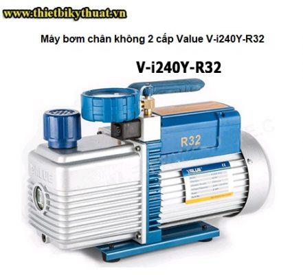 Máy bơm chân không 2 cấp Value V-i240Y-R32
