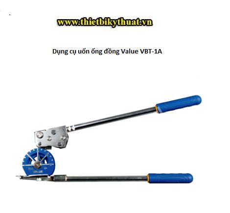 Dụng cụ uốn ống đồng Value VBT-1A