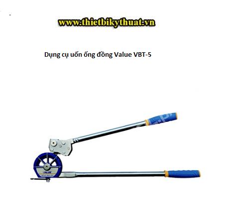 Dụng cụ uốn ống đồng Value VBT-5