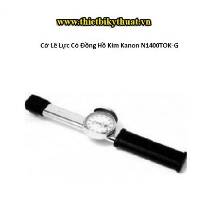 Cờ Lê Lực Có Đồng Hồ Kim Kanon N1400TOK-G