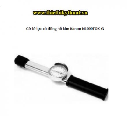 Cờ lê lực có đồng hồ kim Kanon N1000TOK-G