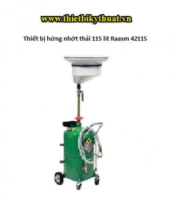 Thiết bị hứng nhớt thải 115 lít Raasm 42115