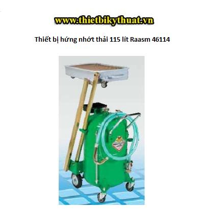 Thiết bị hứng nhớt thải 115 lít Raasm 46114