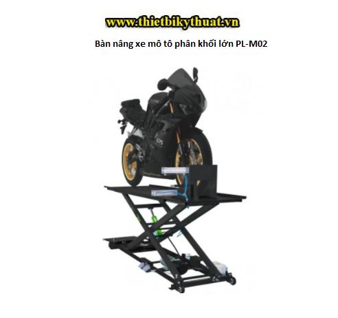 Bàn nâng xe mô tô phân khối lớn PL-M02