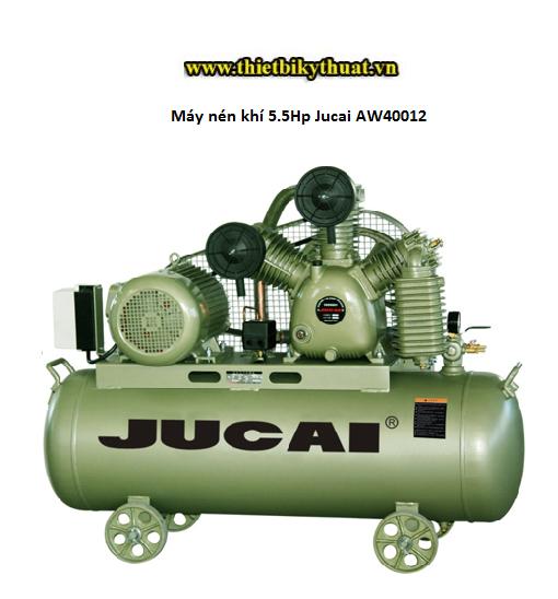 Máy nén khí 5.5Hp Jucai AW40012