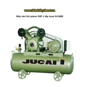 Máy nén khí piston 2HP 1 cấp Jucai AV1608
