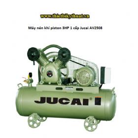 Máy nén khí piston 3HP 1 cấp Jucai AV2508