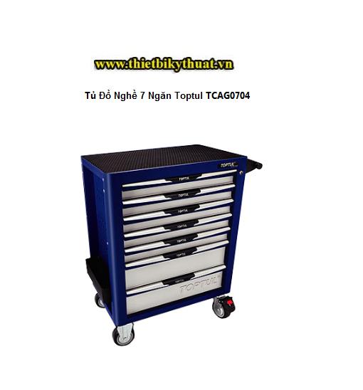 Tủ Đồ Nghề 7 Ngăn Toptul TCAG0704