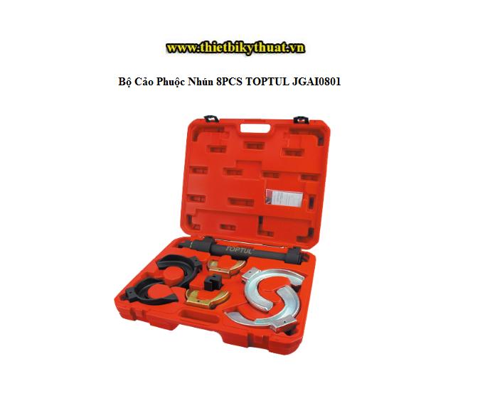 Bộ Cảo Phuộc Nhún 8PCS TOPTUL JGAI0801