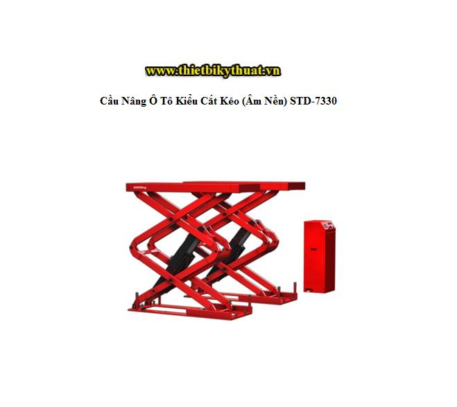 Cầu nâng ô tô kiểu cắt kéo (Âm nền) STD-7330
