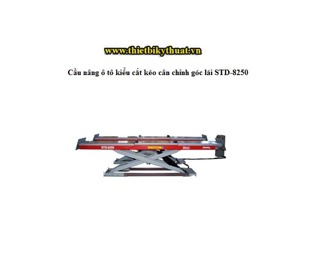 Cầu nâng ô tô kiểu cắt kéo cân chỉnh góc lái STD-8250