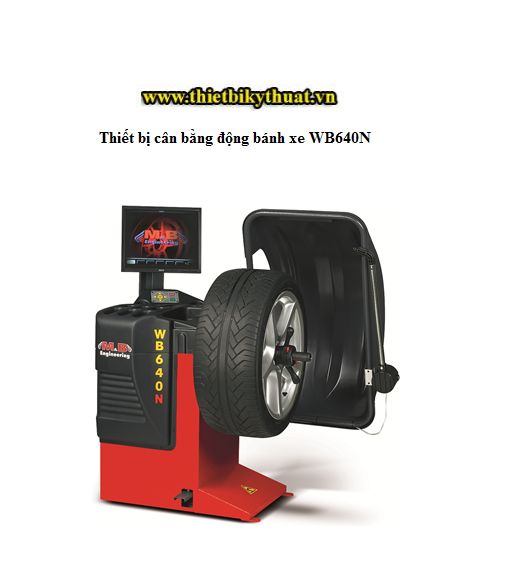 Thiết bị cân bằng động bánh xe WB640N