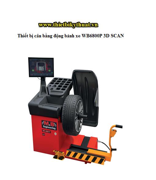 Thiết bị cân bằng động bánh xe WB6800P 3D SCAN