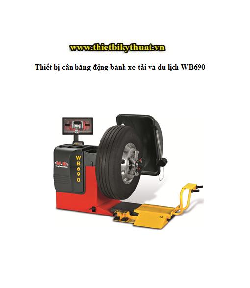 Thiết bị cân bằng động bánh xe tải và du lịch WB690