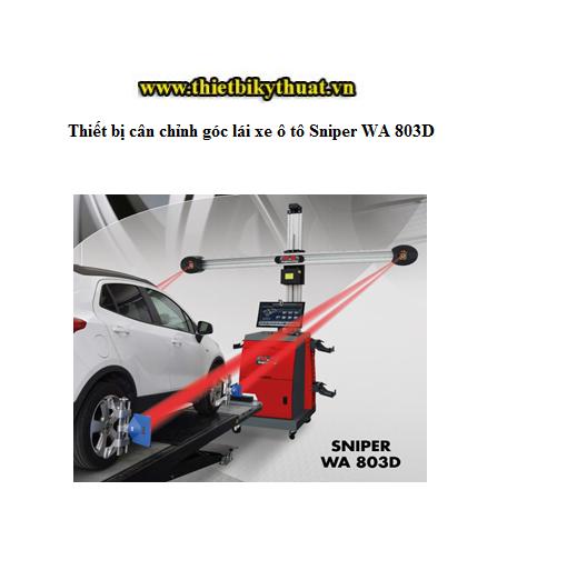 Thiết bị cân chỉnh góc lái xe ô tô Sniper WA 803D