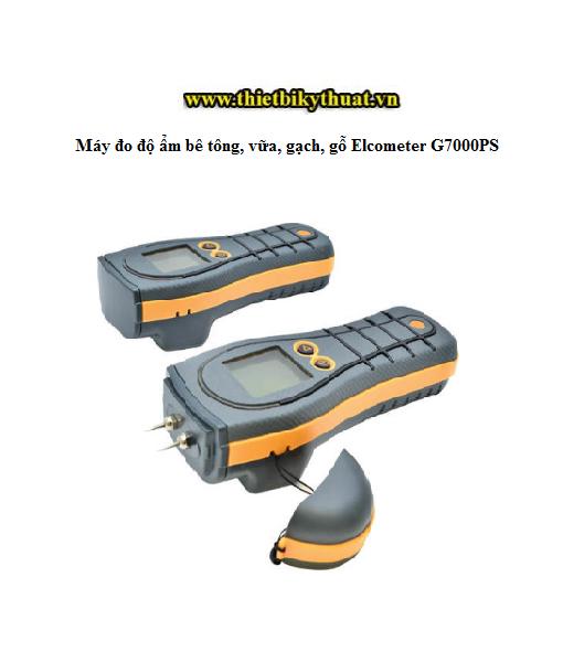Máy đo độ ẩm bê tông, vữa, gạch, gỗ Elcometer G7000PS