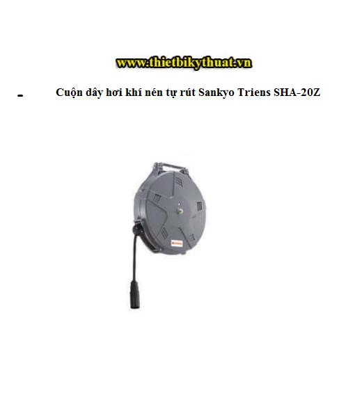 Cuộn dây hơi khí nén tự rút Sankyo Triens SHA-20Z