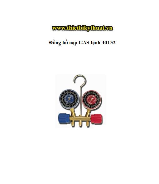 Đồng hồ nạp GAS lạnh 40152