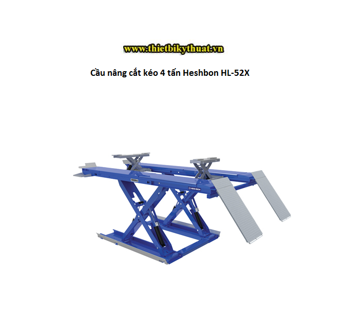 Cầu nâng cắt kéo 4 tấn Heshbon HL-52X