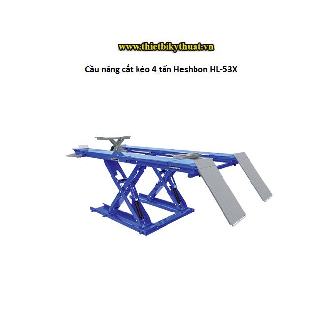 Cầu nâng cắt kéo 4 tấn Heshbon HL-53X