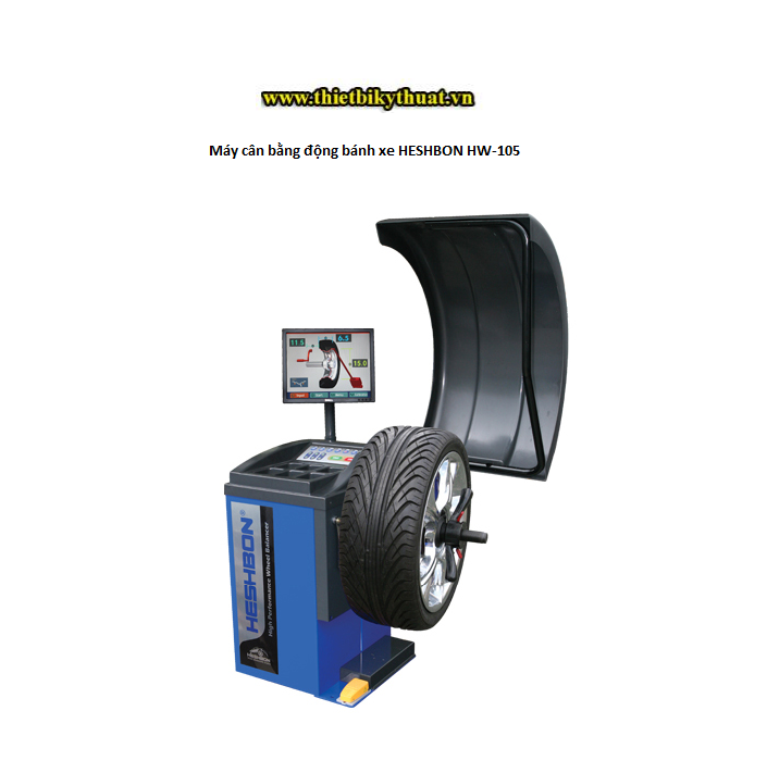 Máy cân bằng động bánh xe HESHBON HW-105