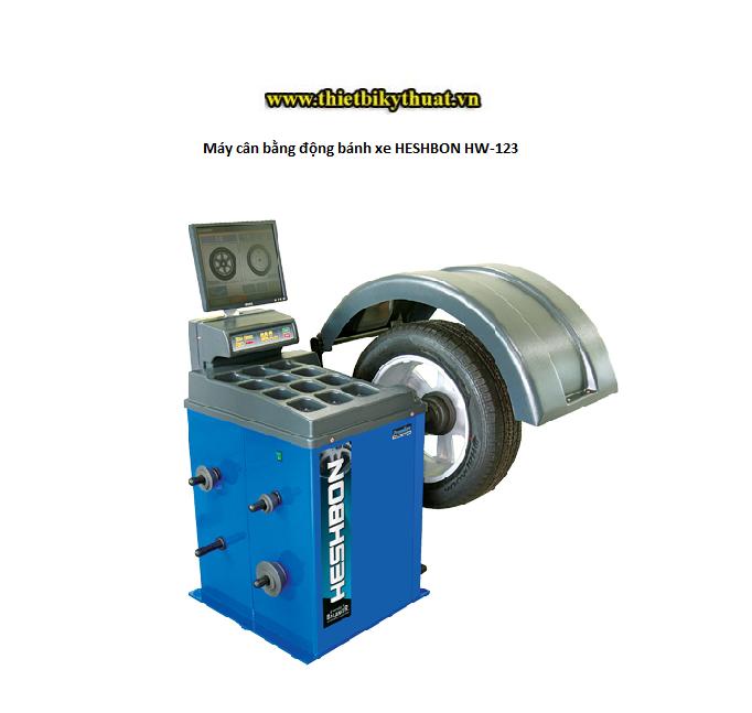 Máy cân bằng động bánh xe HESHBON HW-123