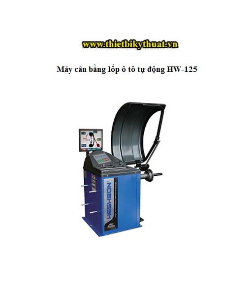 Máy cân bằng lốp ô tô tự động HW-125