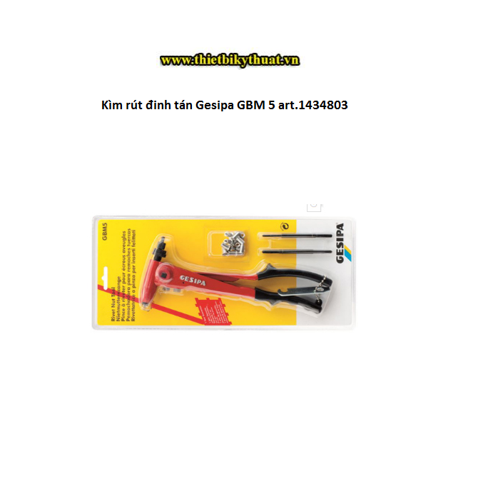 Kìm rút đinh tán Gesipa GBM 5 art.1434803