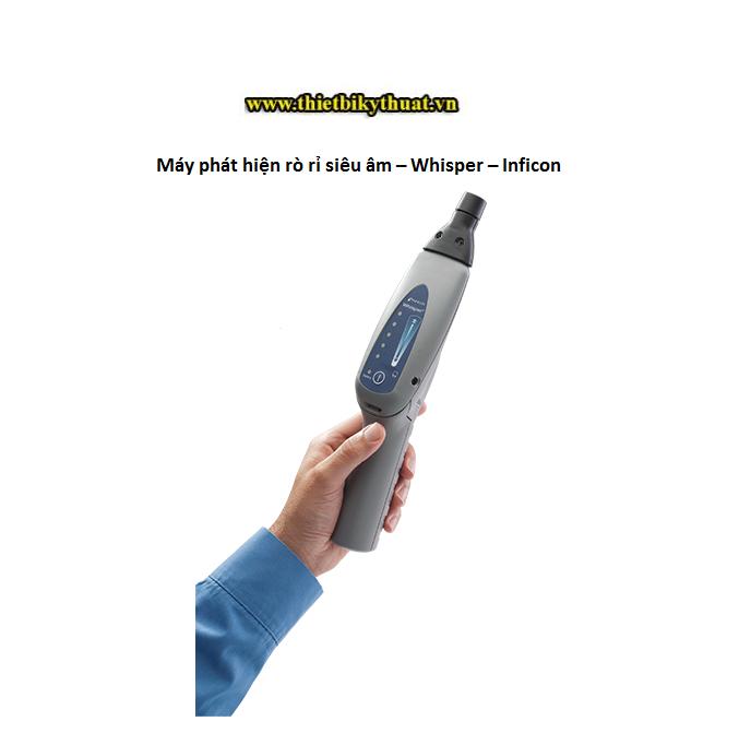 Máy phát hiện rò rỉ siêu âm – Whisper – Inficon
