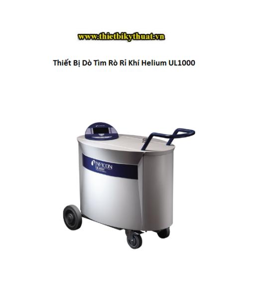 Thiết Bị Dò Tìm Rò Rỉ Khí Helium UL1000