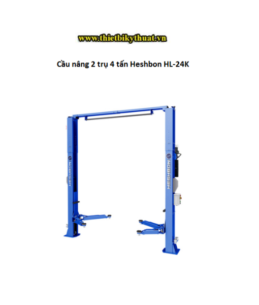 Cầu nâng 2 trụ 4 tấn Heshbon HL-24K