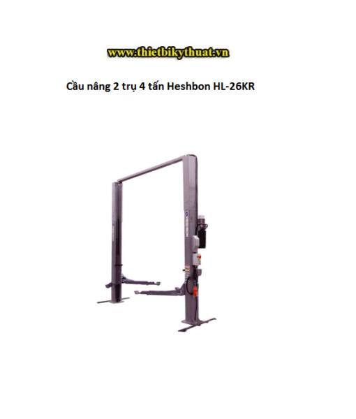 Cầu nâng 2 trụ 4 tấn Heshbon HL-26KR