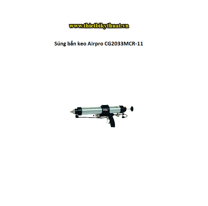 Súng bắn keo Airpro CG2033MCR-11