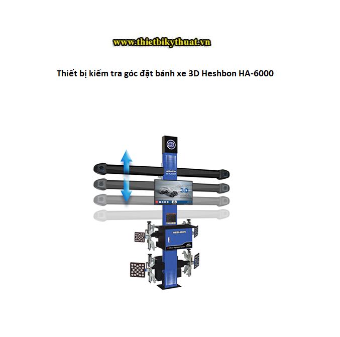 Thiết bị kiểm tra góc đặt bánh xe 3D Heshbon HA-6000