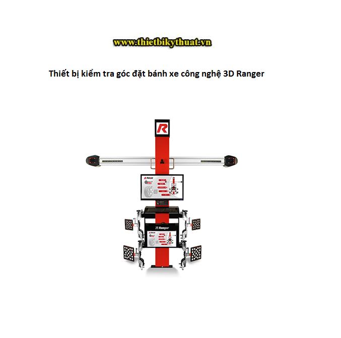 Thiết bị kiểm tra góc đặt bánh xe công nghệ 3D Ranger