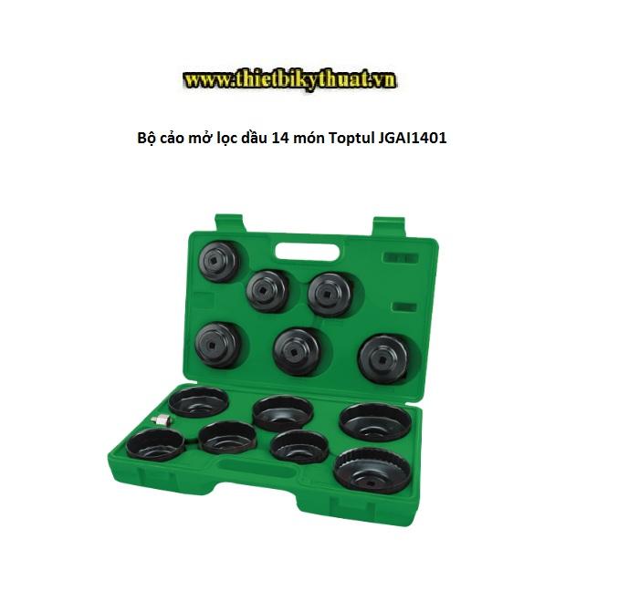 Bộ cảo mở lọc dầu 14 món Toptul JGAI1401