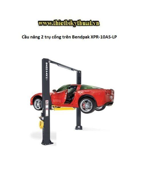 Cầu nâng 2 trụ cổng trên Bendpak XPR-10AS-LP