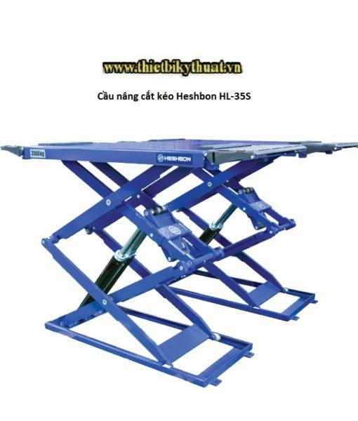 Cầu nâng cắt kéo Heshbon HL-35S