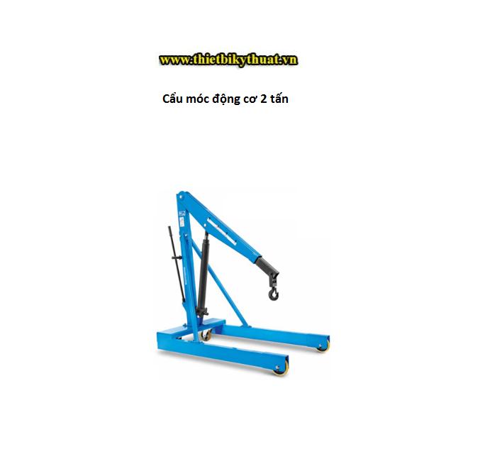 Cẩu móc động cơ 2 tấn