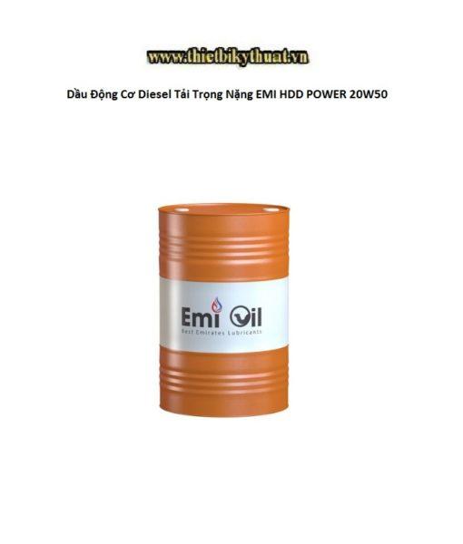 Dầu Động Cơ Diesel Tải Trọng Nặng EMI HDD POWER 20W50