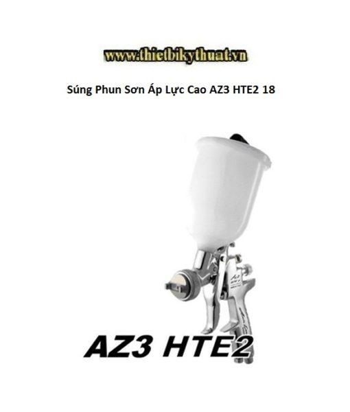 Súng Phun Sơn Áp Lực Cao AZ3 HTE2 18