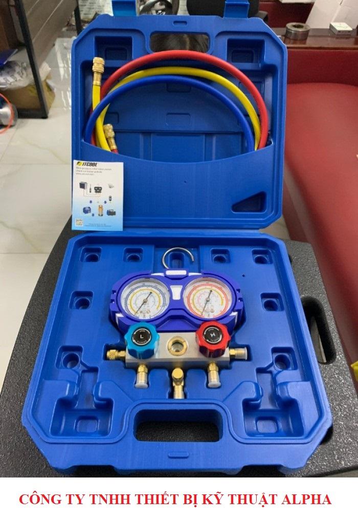 Bộ Đồng Hồ Nạp Gas Lạnh AITCOOL HMG-2-R410A-II