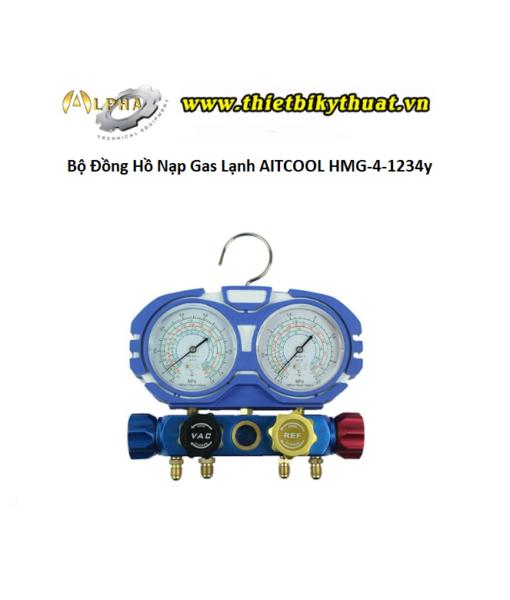 Bộ Đồng Hồ Nạp Gas Lạnh AITCOOL HMG-4-1234y