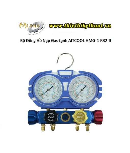 Bộ Đồng Hồ Nạp Gas Lạnh AITCOOL HMG-4-R32-II