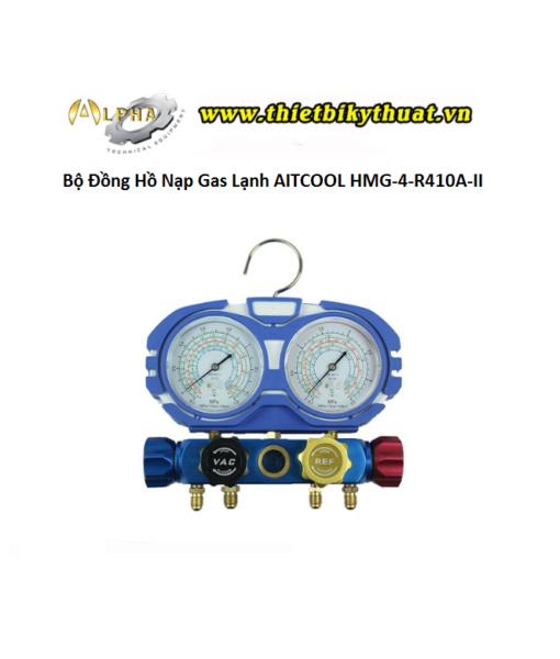Bộ Đồng Hồ Nạp Gas Lạnh AITCOOL HMG-4-R410A-II