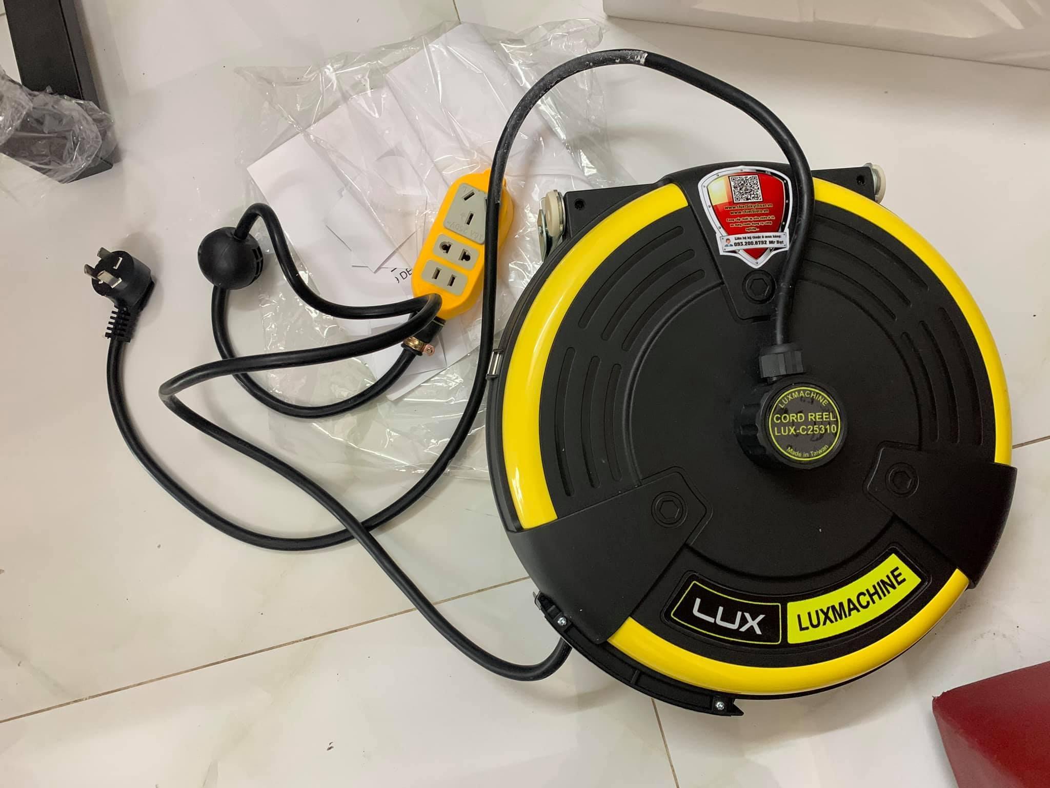 Dây điện tự rút 10m LUX C25310