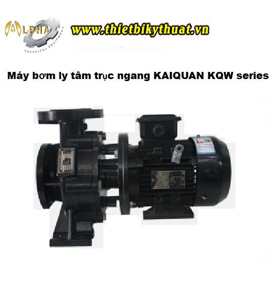Máy bơm trục ngang KAIQUAN 50KQW11-10-0.75/2