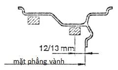 Hướng dẫn sử dụng máy cân bằng lốp tự động 8